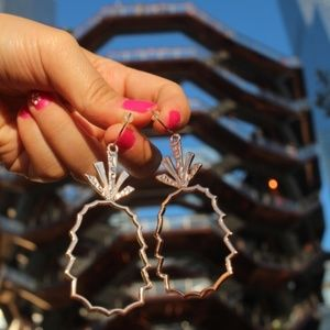 New Handmade Earrings | fruits copper pineapple